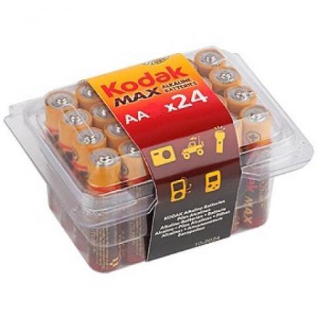 Батарейки Kodak Max LR03-24 24 шт 24 3A PVC/ K3A24 24/480/34560 elasun 24