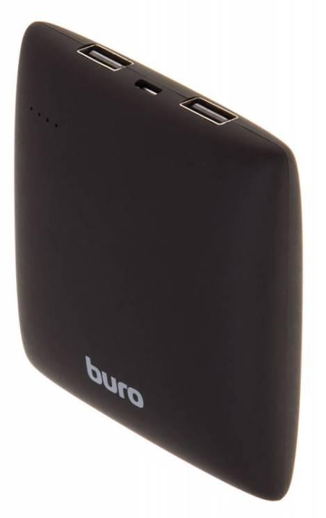 Портативное зарядное устройство Buro RA-7500PL-BK Pillow 7500мАч черный аккумулятор внешний buro ra 7500pl