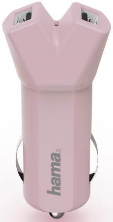 Автомобильное зарядное устройство HAMA Design Line 3.4A универсальное розовый 00178211 barry burd a android application development all in one for dummies