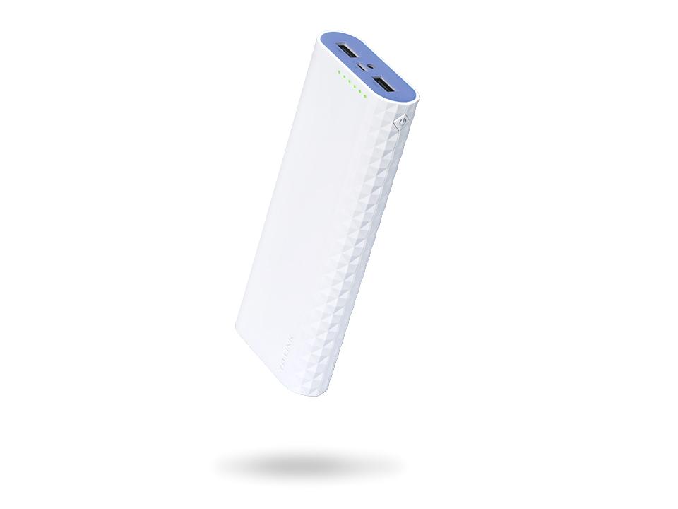Зарядное устройство TP-LINK  TL-PB20100 Портативное зарядное устройство Power Bank на 20100 мАч (серия Ally)