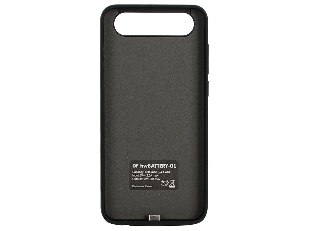 Аккумулятор-чехол для Huawei Honor 9 DF hwBattery-01 (black) сотовый телефон huawei honor 5a black