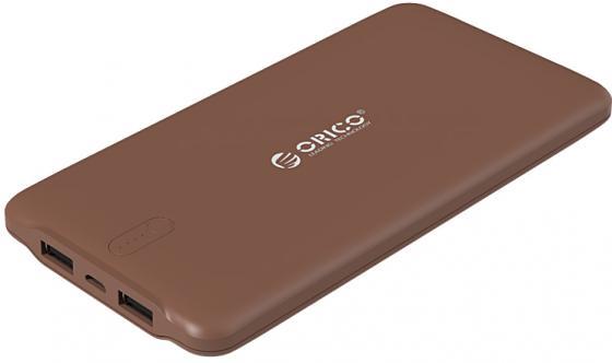 Портативное зарядное устройство Orico LD100 (коричневый) orico dcv 4u eu white зарядное устройство