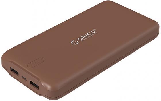 Портативное зарядное устройство Orico LD200 (коричневый) зарядное устройство orico opc 4us bk black