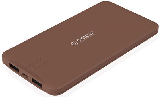 Портативное зарядное устройство Orico LD50 (коричневый) зарядное устройство wester cb20