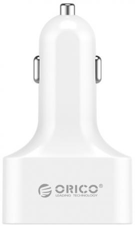 цена на Автомобильное зарядное устройство Orico UCH-4U (белый)