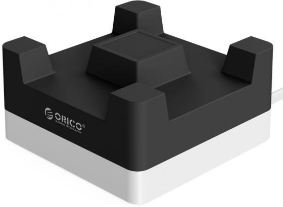 Сетевое зарядное устройство Orico CHA-4U-EU 4 x USB черный сетевое зарядное устройство orico dcv 4u eu wh 2 4а 4 x usb белый