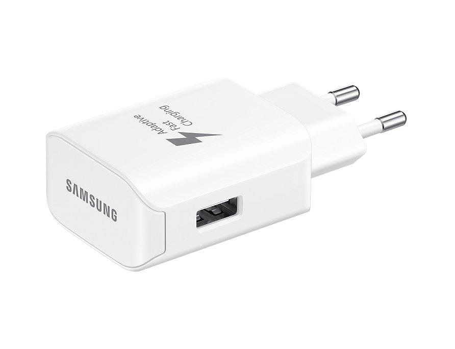 Сетевое зарядное устройство Samsung EP-TA300CWEGRU 2.1А USB Type C белый цена