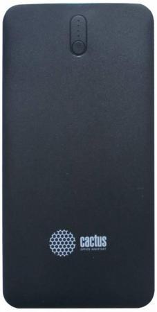 Портативное зарядное устройство Cactus CS-PBAS283 10000мАч черный серый портативное зарядное устройство cactus cs pbas283 10000мач черный серый