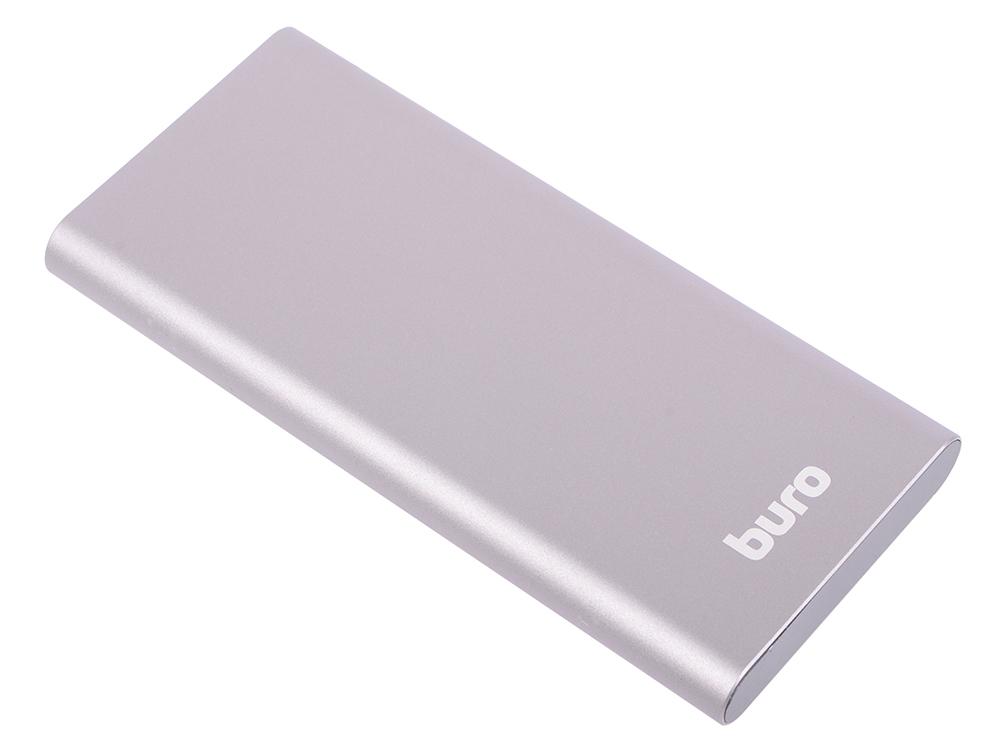 Портативное зарядное устройство Buro RB-10000-QC3.0-I&O 10000мАч серый кондиционер rix i o w24p