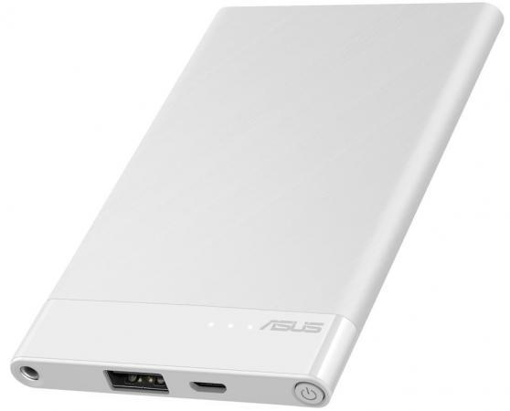 Портативное зарядное устройство Asus ZenPower ABTU015 4000мАч белый 90AC02C0-BBT011 внешний аккумулятор asus zenpower abtu015 4000мaч белый [90ac02c0 bbt011]