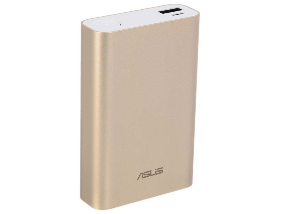 Портативное зарядное устройство Asus ZenPower ABTU005 10050mAh 1xUSB золотистый 90AC00P0-BBT078 портативное зарядное устройство asus zenpower abtu011 10050мач розовый 90ac0180 bbt025