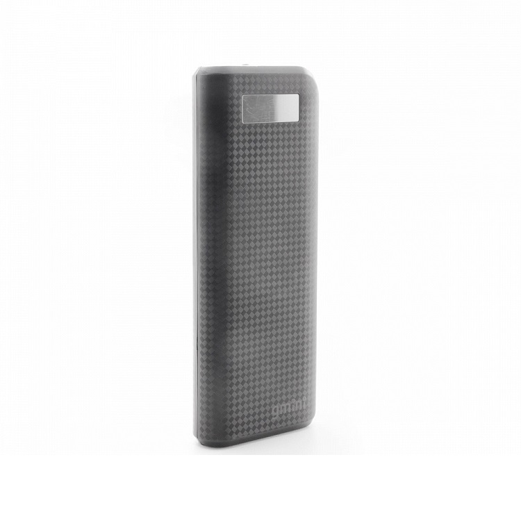 Внешний аккумулятор Gmini Carbon Series GM-PB156TC Black , 15600mAh