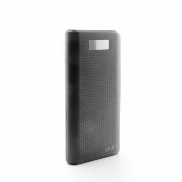 Внешний аккумулятор Gmini Carbon Series GM-PB-200TC Black , 20800mAh