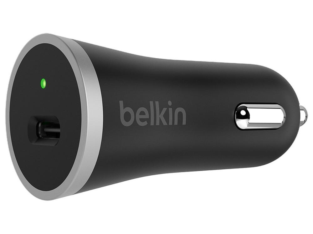 Автомобильное зарядное устройство Belkin F7U005bt04-BLK 3А USB черный кабель usb type c belkin 3 1 usb a to usb c f2cu029bt1m blk