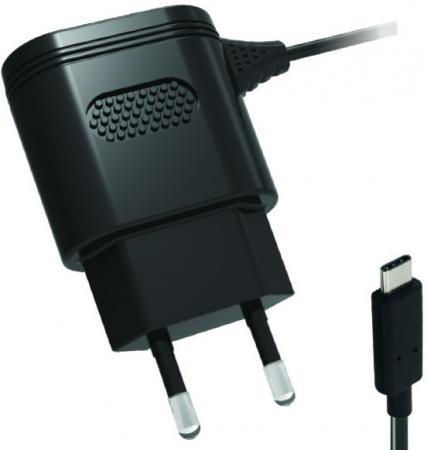 Сетевое зарядное устройство Partner 2.1A USB-C черный ПР038461 сетевое зарядное устройство partner smart 5u 5usb 7 2a
