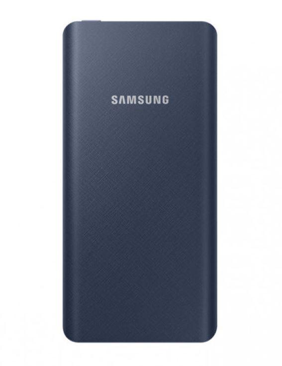 Портативное зарядное устройство Samsung EB-P3020CNRGRU 5000mAh 1xUSB синий внешний аккумулятор samsung eb pn930csrgru 10200mah серый