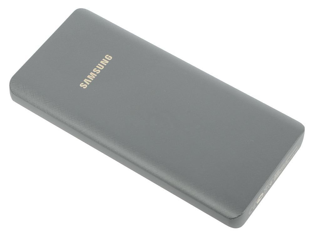Портативное зарядное устройство Samsung EB-P3000CSRGRU 10000mAh 1xUSB серебристый аккумулятор samsung 10000mah grey eb p3000csrgru