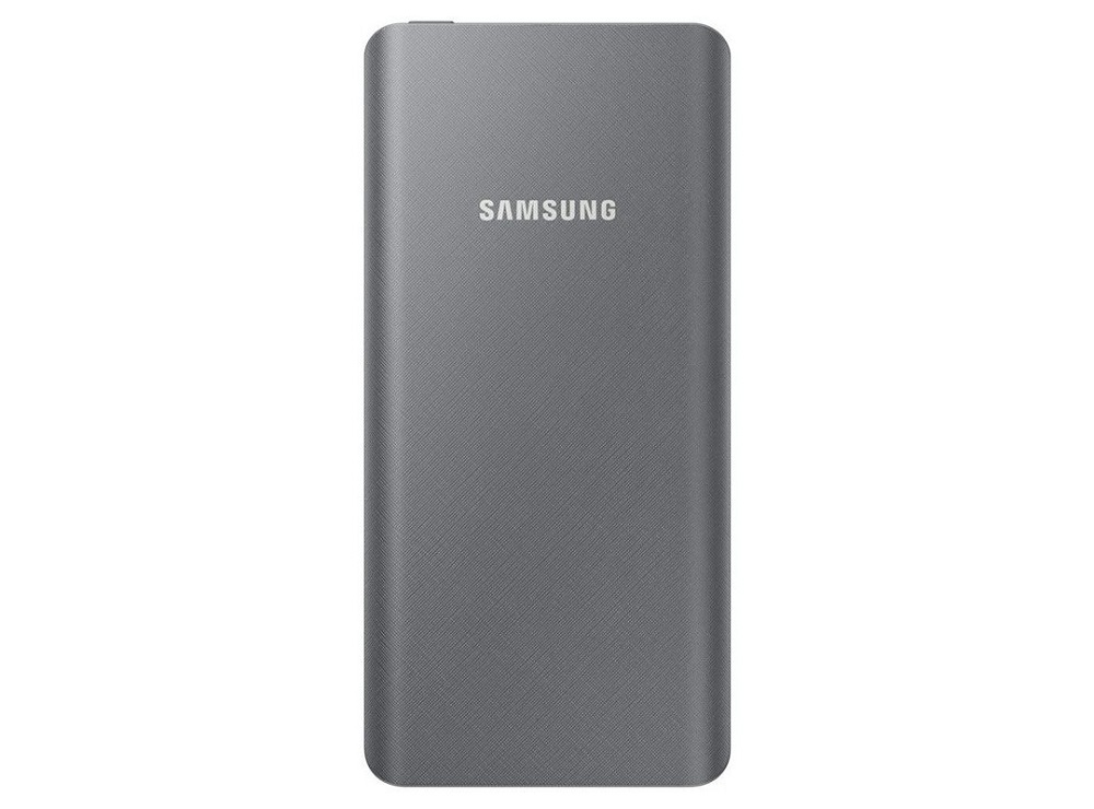 Портативное зарядное устройство Samsung EB-P3000CSRGRU 10000mAh 1xUSB серебристый внешний аккумулятор samsung eb pn930csrgru 10200mah серый