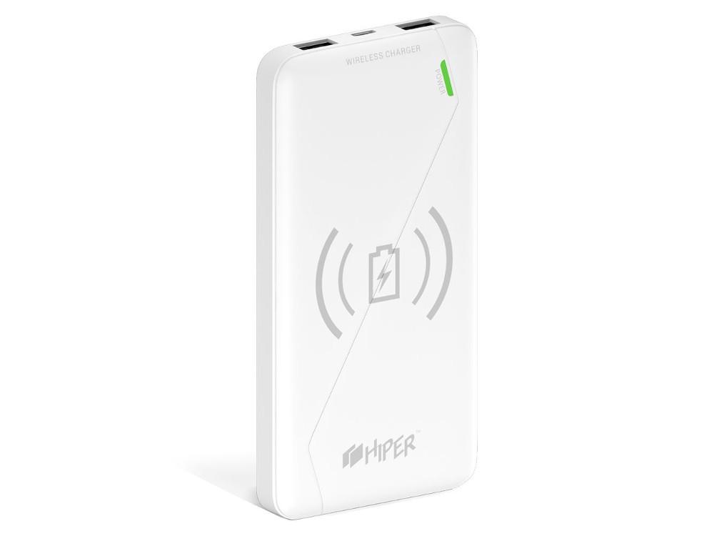 Портативное зарядное устройство HIPER SX8000 8000мАч белый портативное зарядное устройство hiper ep6600 grafiti 6600мач