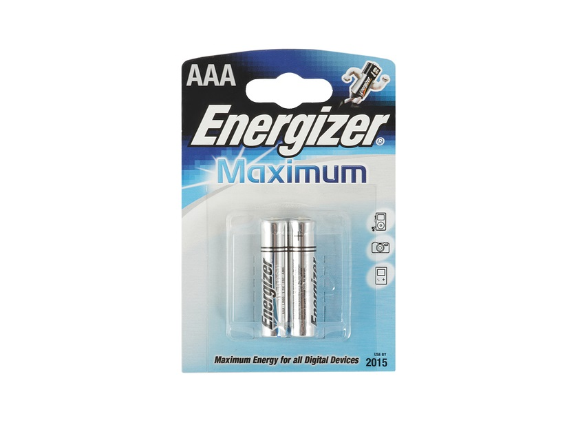 Батарейка Energizer Maximum LR03/E92 тип ААА 2шт