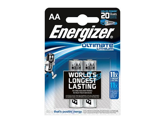 ENERGIZER Батарейка Lithium L91 тип АА 2шт energizer аккумулятор extreme тип аа 2300mah 2шт