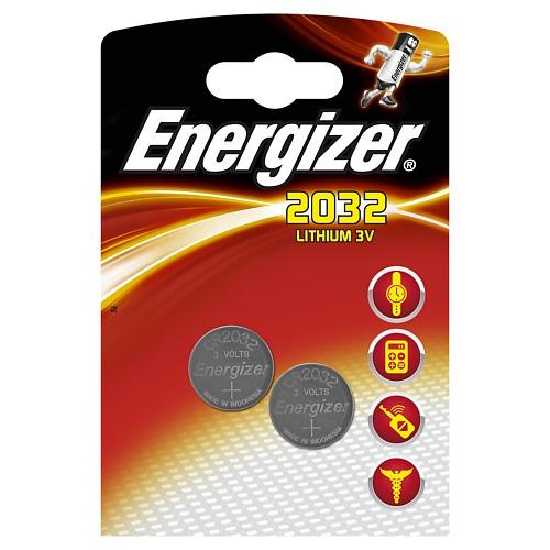 Батарейка Energizer Lithium CR2032 FSB 2шт energizer chvc3 base eu e300320900