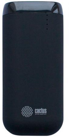 Внешний аккумулятор Power Bank 5200 мАч Cactus CS-PBHTST-5200 черный внешний аккумулятор cactus cs pbas120 2600bk 2600мaч черный