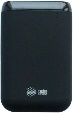 Фото Внешний аккумулятор Power Bank 7800 мАч Cactus CS-PBHTST-7800 черный внешний аккумулятор cactus cs pbpt18 18000al 18000mah silver