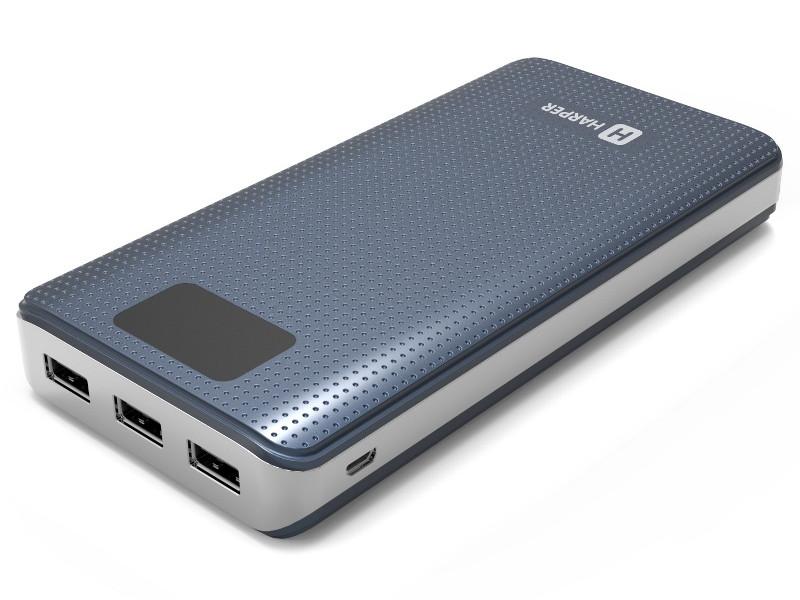 Внешний аккумулятор HARPER PB-20000 grey подвесная люстра omnilux oml 77103 05