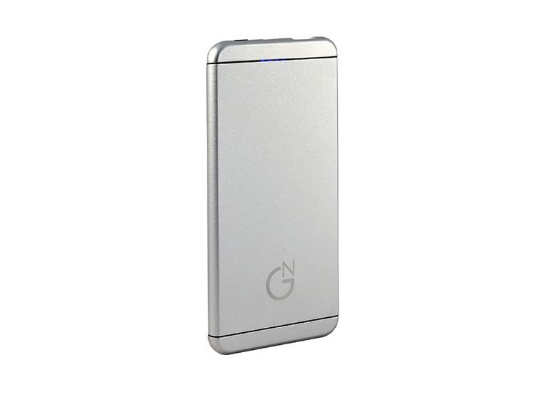 Внешний аккумулятор NewGrade HD-HJ620W-SLV 5000 mAh Polymer серебристый аккумулятор globusgps gl pb9 5000 mah