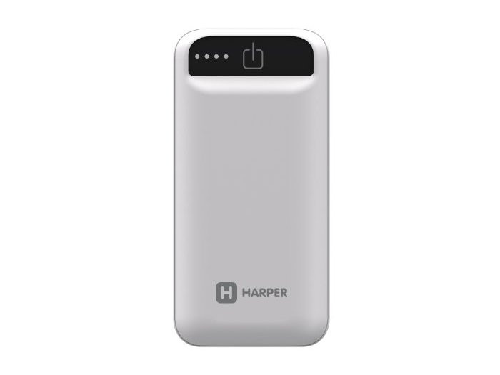 Внешний аккумулятор HARPER PB-2605 White harper pbs 8801 beige внешний аккумулятор