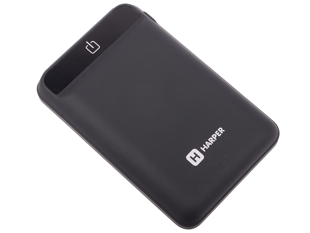 Внешний аккумулятор HARPER PB-2612 black внешний аккумулятор samsung eb pg930bbrgru 5100mah черный