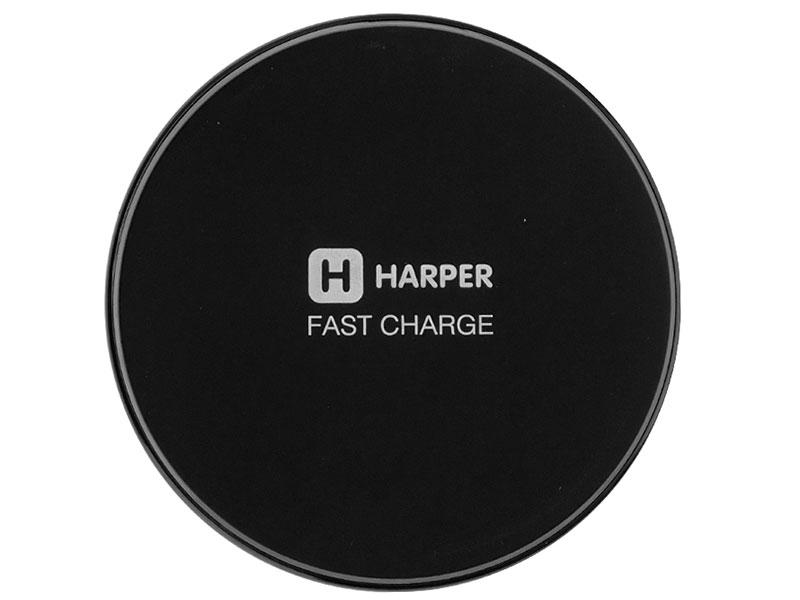 Беспроводное зарядное устройство для смартфона HARPER QCH-300 Black