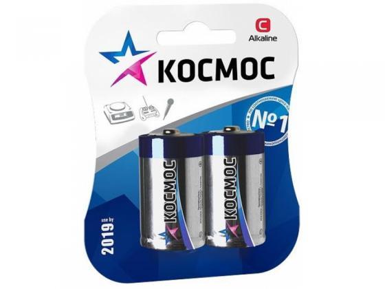 Батарейка КОСМОС LR14 2хBL батарейка космос koc27a5bl