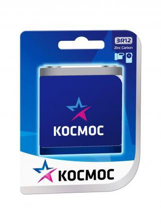 Батарейка КОСМОС 3R12 (блистер 1шт) батарейка космос koc27a5bl