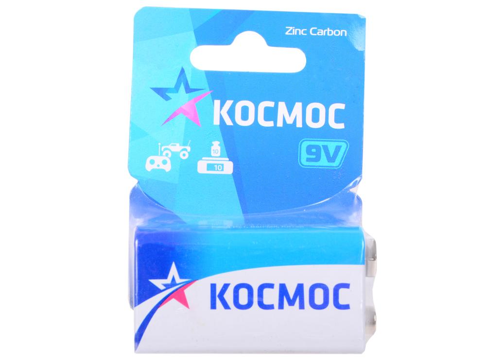 Батарейка КОСМОС KOC6F221BL S 6F22 (блист.1шт.) батарейка космос kocr20