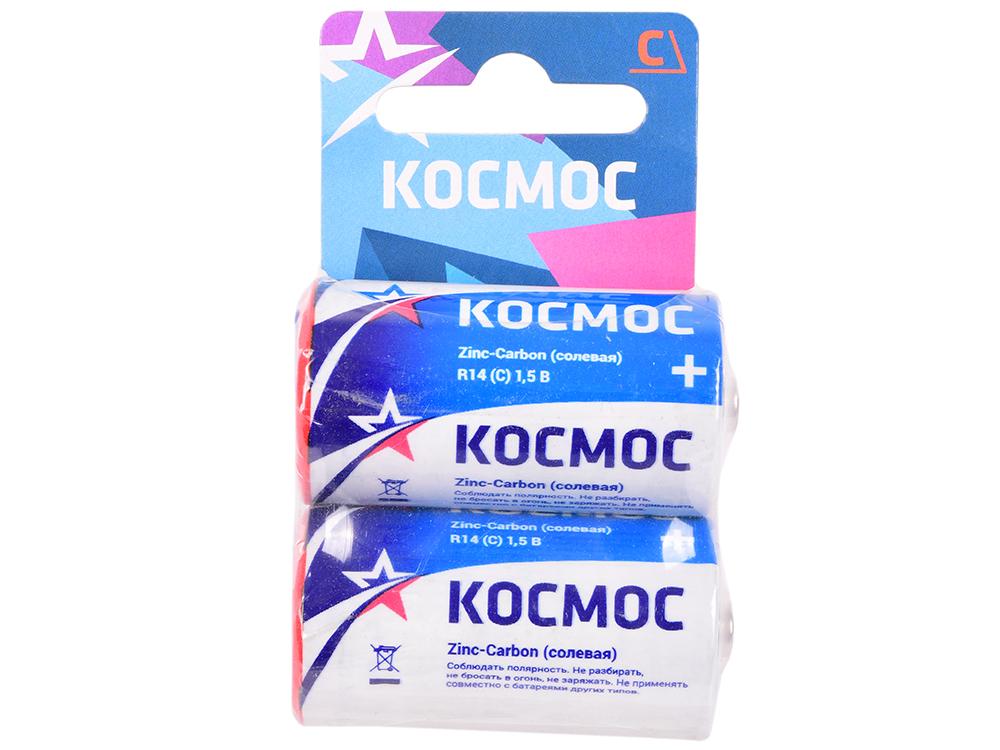 Батарейка КОСМОС R14 2хBL батарейка космос kocr20