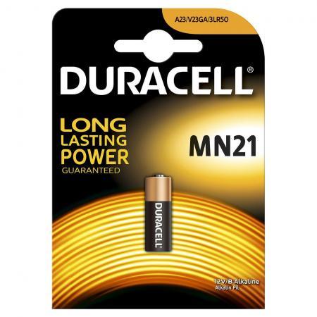 Батарейка DURACELL MN21 (10/100/9600) MN21 / A23 / K23A / LR08 батарейки duracell mn21 b1 security 12v alkaline