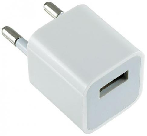 Сетевое зарядное устройство Perfeo I4607 1A USB белый