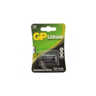 Батарея GP CR123A-2CR1 10/450 батарейки gp cr123a 2cr1