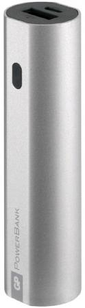 Фото - Внешний аккумулятор Power Bank 3000 мАч GP GPFN03MSE-2CRB1 серебристый внешний аккумулятор для портативных устройств hiper circle 500 blue circle500blue