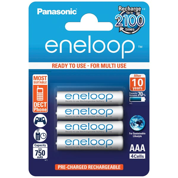 Аккумуляторы Panasonic ENELOOP PRO/ BK-4MCCE/4BE Аккумулятор . (блистер 4 шт.) аккумулятор panasonic eneloop bk 4mcce 8be 750mah aaa bl8