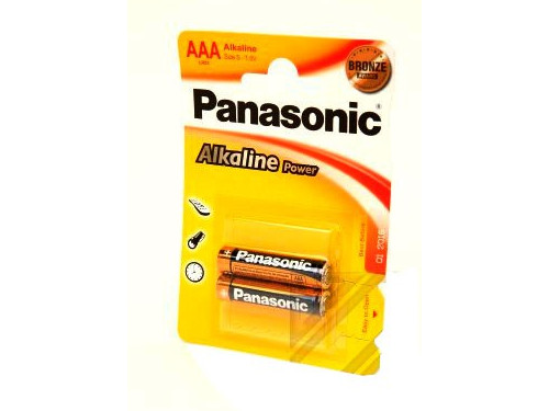 Батарейки Panasonic/ AAA Alkaline Power (блистер 2 шт.) батарейки energizer alkaline power ааа 8 шт