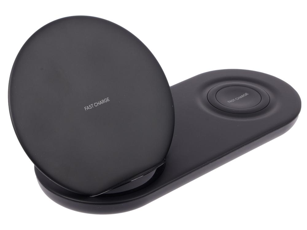 Беспроводное зарядное устройство Samsung EP-N6100 черный (EP-N6100TBRGRU) samsung ep pa510 mini 2 white беспроводное зарядное устройство