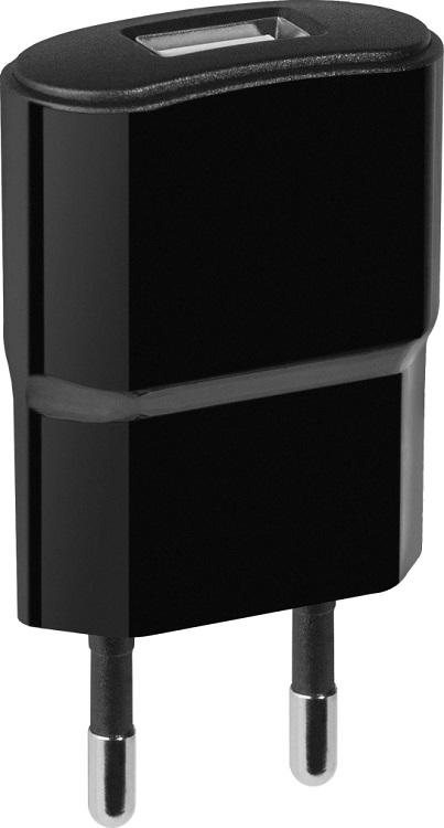 Зарядное устройство Defender UPC-10 (83542), USB, 5V / 1А, кабель сетевое зарядное устройство samsung ep ta20ebecgru usb type c 2 1а чёрный