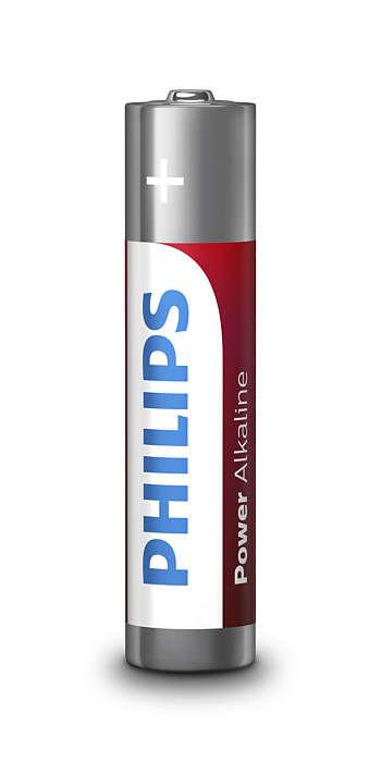 Элемент питания Philips LR03P4B/51 Power (AAA 1,5B)