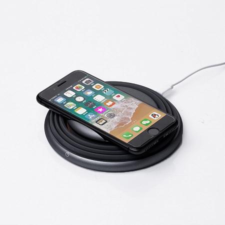 Беспроводное зарядное устройство с динамической подсветкой LEXAND LP-1CL (серый) зарядное устройство lexand lp 1cl grey