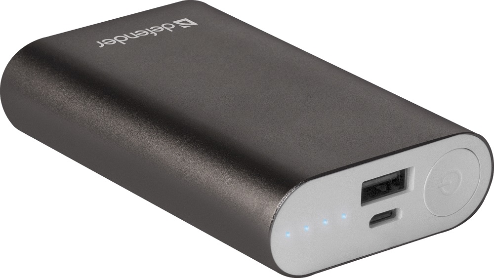 Фото - Внешний аккумулятор Defender Lavita 4000B 1 USB, 4000 mAh, 2.1A внешний аккумулятор для портативных устройств defender lavita 10400 83636