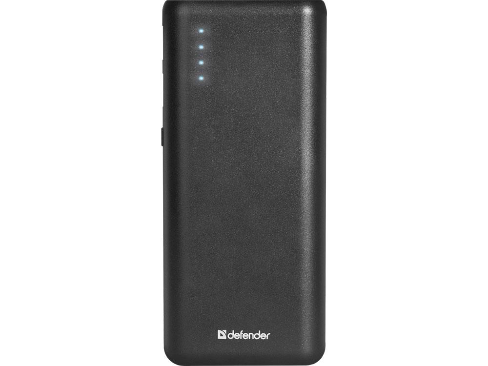 Defender Внешний аккумулятор Lavita 10000B 2 USB, 10000 mAh, 2.1A (83617) аккумулятор
