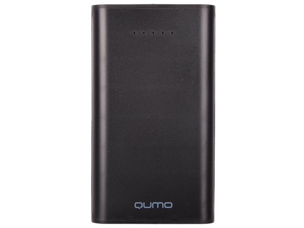 Фото - Внешний аккумулятор Qumo PowerAid 13500, 13500 мА-ч, 2 USB 1A+2A (2.1А сумм), вход до 1.5А, черный, корпус ABS пластик аккумулятор